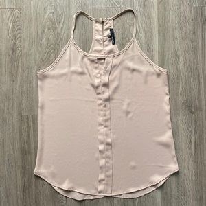 Ro & De Tank Top Tan/nude Size Medium